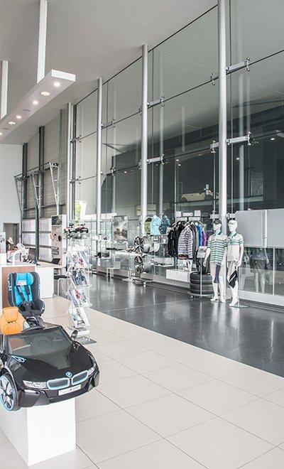 concession BMW - Fontès Architecture