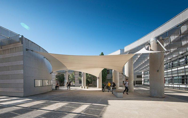 Lycée Jean Monnet - Fontès Architecture